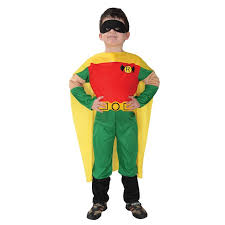 Kids Superhero Halloween Costumes Robin Halloween Costume Boys Kids Superhero Costume