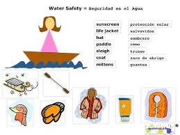 water safety with spanish terms summer crafts ideas pinterest