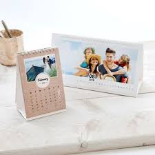 calendrier de bureau photo calendrier photo agenda photo calendrier personnalisé 2018