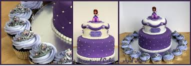 sofia the birthday cake sofia the birthday cake and cupcakes cakecentral