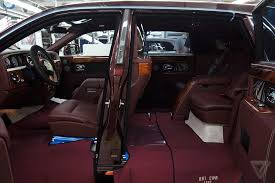 The Beast Car Interior In Pictures Rolls Royce U0027s Luxury Factory The Verge