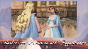 barbie princess pauper swedish
