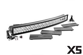 40 inch led light bar 40 in curved cree led light bar x5 series 76240 rough country