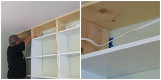 Built In Wall Shelves by Remodelaholic Build A Wall To Wall Built In Desk And Bookcase