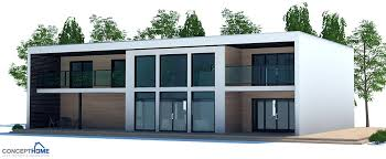 contemporary house plan contemporary house plan to wide lot with open planning and