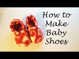 Sho Bayi how to make baby shoes