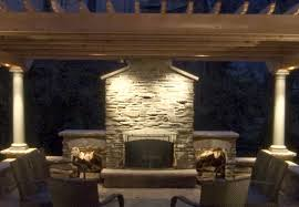 Fake Outdoor Fireplace - fake fireplace lighting fireplace design and ideas