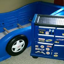 Little Tikes Race Car Bed Find More Little Tikes Twin Race Car Bed U0026 Toolbox Dresser For