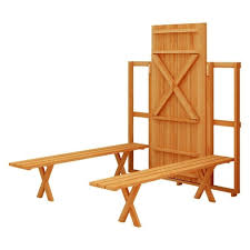 Folding Legs For Table Bench Folding Bench Picnic Table Redwood Rectangular Folding