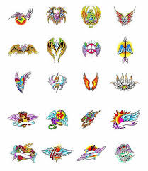 16 wings tattoo designs samples and ideas