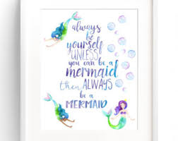 Mermaid Room Decor Mermaid Decor Etsy