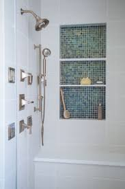 bathroom shower niche insert how to tile a shower niche with