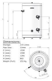 ariston 3826505 215 litre aquabravo itd 215 high efficiency