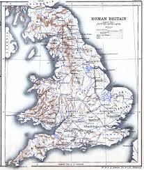 Britain Map Roman Britain Maps Places Tribes Costume History