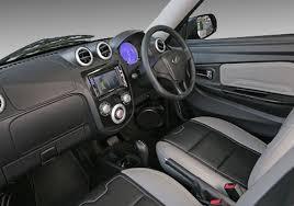 Mahindra Reva E20 Interior Mahindra Launches Premium Version Of E2o