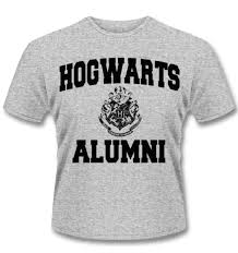 alumni tshirt harry potter t shirt hogwarts alumni somethinggeeky