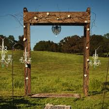wedding arches rentals in houston tx wooden wedding arches barnwood arch the find vintage wedding