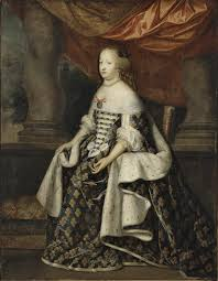 robe de mariã e original file on canvas portrait of thérèse of austria 1638 1683