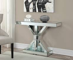 Mirror Dining Table by Glass Mirror Dining Table Linea Console Table Olympia Console
