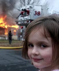Meme Photos - disaster girl meme zoe roth now