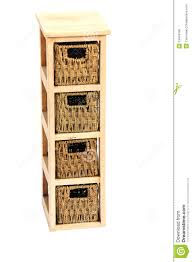 Wicker Storage Chest Of Drawers Wicker Drawers Stock Photo Image 13449190