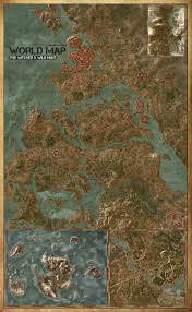 Hunt Maps Maps The Witcher 3 Wild Hunt Maps U0026 Quests