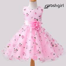 2017 Fashion Baby Dress Summer Style Infant Casual Dresses