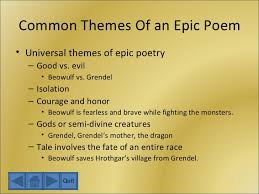 Themes Of Beowulf Poem | the anglo saxons and beowulf