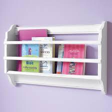 Land Of Nod Bookshelf Bin There Done That Wall Book Bin White In Shelves U0026 Hooks The