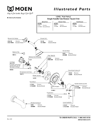 Bathroom Shower Parts Awesome Moen L82694 Parts List And Diagram Ereplacementparts In
