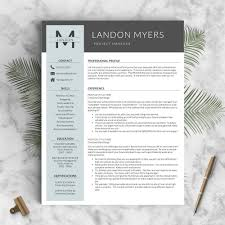 Bd Jobs Resume Format by Professional Resume Template The Landon U2013 Landed Design Solutions
