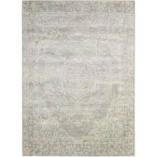 Euphoria Area Rug Gray Distressed 5 X 7 Area Rugs Rugs The Home Depot