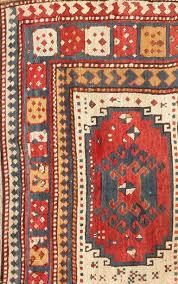 Kuba Rug Antique Tribal Caucasian Kazak Rug For Sale At 1stdibs