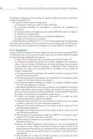 dispense haccp 4 application du syst礙me haccp pour l assurance de la salubrit礬