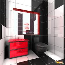 red bathroom designs ornate japanese bathroom in black and red