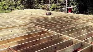 flooring deck flooroist span chart design and ideas deck joist