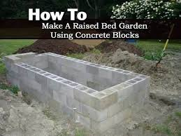 How To Build A Large Raised Garden Bed - cinder block raised garden beds ok this is kind of cute rail road