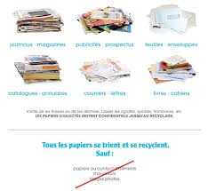 recyclage papier de bureau syvalom
