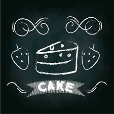 cake menu card design vector image 1798646 stockunlimited