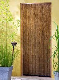rideau porte cuisine saigon rideau de porte en bambou 120 x 220 cm amazon fr jardin