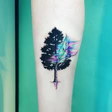 tattoos for fir tree silhouette tattoos getattoos us