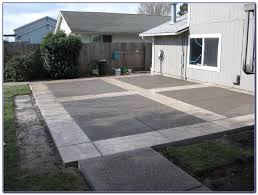 Backyard Concrete Ideas Cost Of Concrete Patio Nz