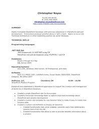 sharepoint resume sharepoint developer resume army franklinfire co