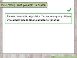 how to write an appeal letter with pictures wikihow