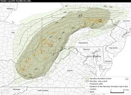 Topographic Map Of Ohio by Updated Geologic Maps Provide Greater Detail For Marcellus