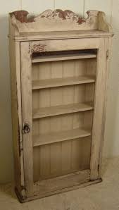 curio cabinet appealing shabby chic white french country hanging