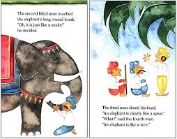 Blind Man And Elephant The Blind Men And The Elephant Lesson Activity Ideas A Peek