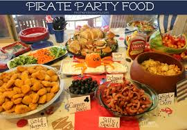 Mexican Themed Dinner Party Menu Jake And The Never Land Pirates Birthday Party Food