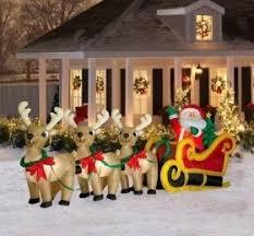 outdoor reindeer christmas decorations u2039 decor love