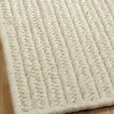 wool rug eco friendly solid braided wool rugs shades of light